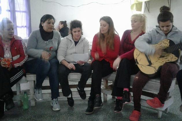 Escritura y música en el Anexo Femenino de la cárcel de Mercedes