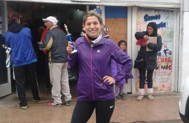 Muy buena participación de atleta local en maratón solidaria en Derqui