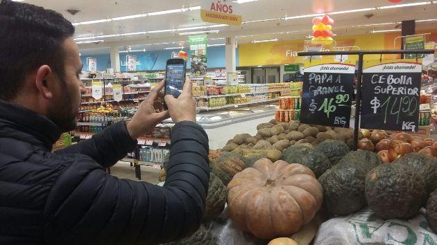 OMIC efectúa relevamiento de precios y productos en hipermercados