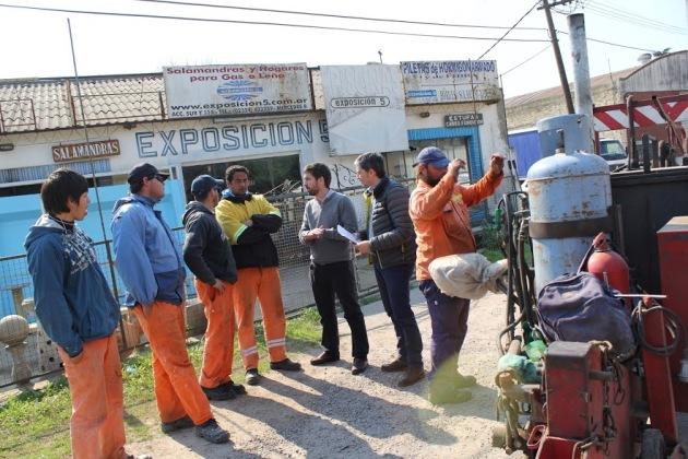 Intendente recorrió el inicio de la obra de re pavimentación de Avenida 2