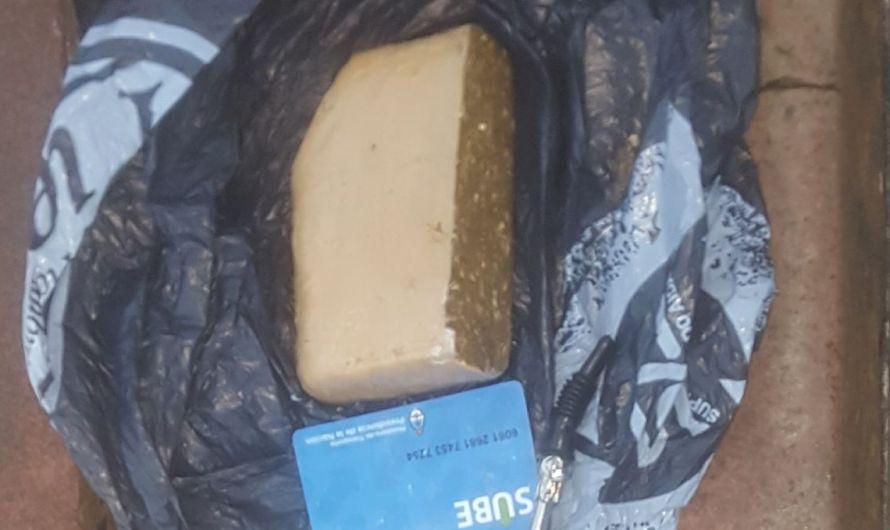 Policía Local logra detención con posesión de sustancias prohibidas
