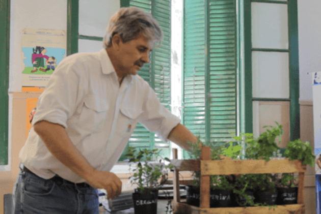Taller de plantas aromáticas en el CDR