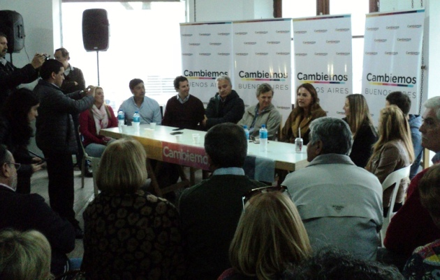 Candidatos a diputados por Cambiemos recorrieron Mercedes