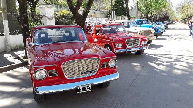 Los Studebaker estuvieron recorriendo Mercedes