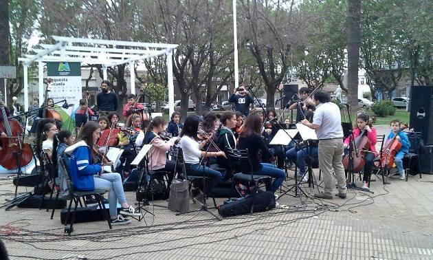 Festival de la Orquesta Escuela en La Trocha para toda la familia