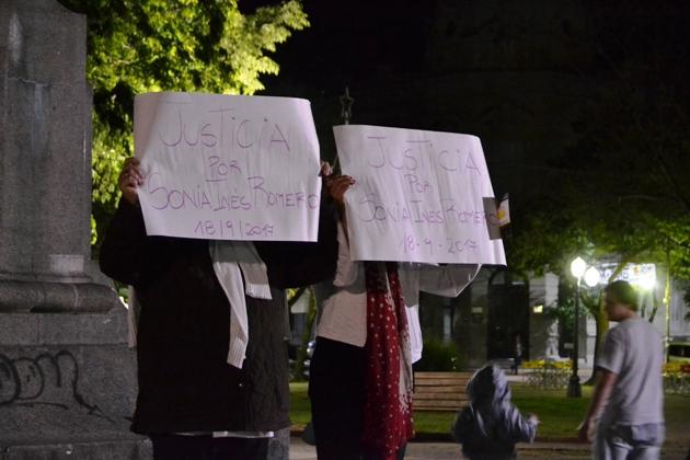 Familiares y amigos marcharon pidiendo justicia por Sonia Romero