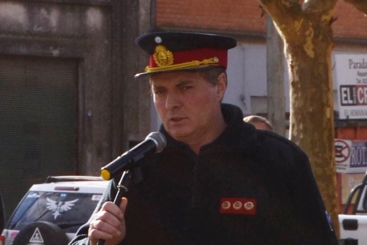 Dolor por el fallecimiento del jefe de Bomberos Roberto Ferrari
