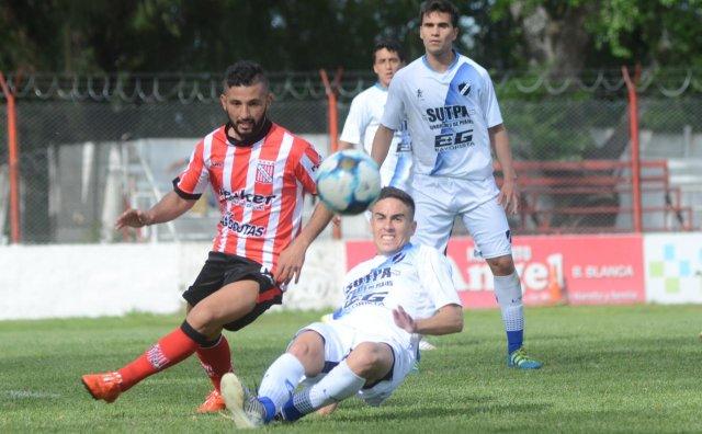 Leandro Filippini, titular en la derrota de Sansinena ante Alvarado