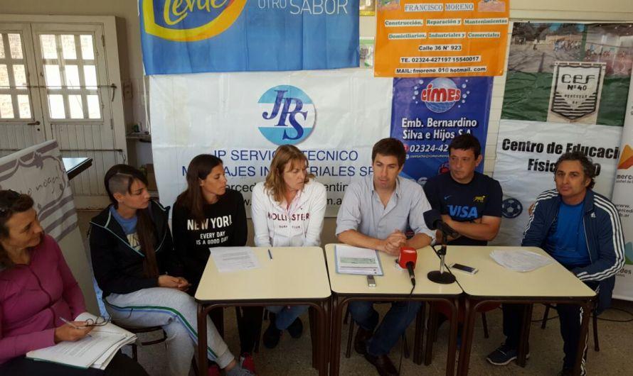 Invitan a tercera Maratón del CEF N°40 a beneficio con aportes del Municipio