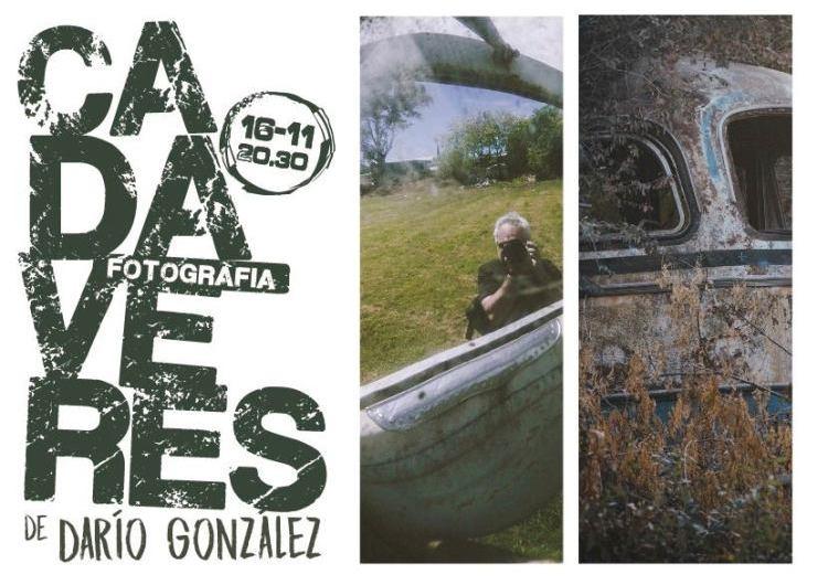 «Cadáveres» fotografiados por Darío González