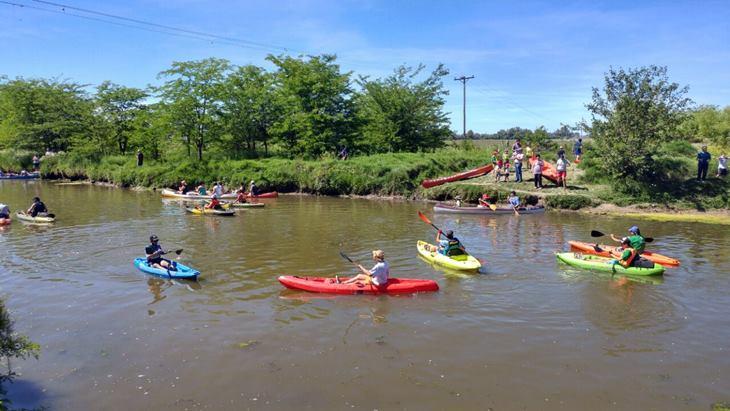 El Río Luján tuvo su día de festejo con música, embarcaciones y concientización