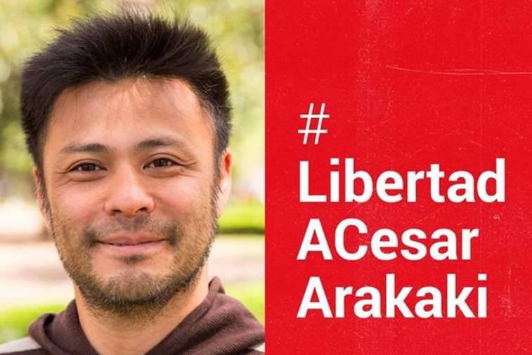 Actividades por la libertad de los presos políticos