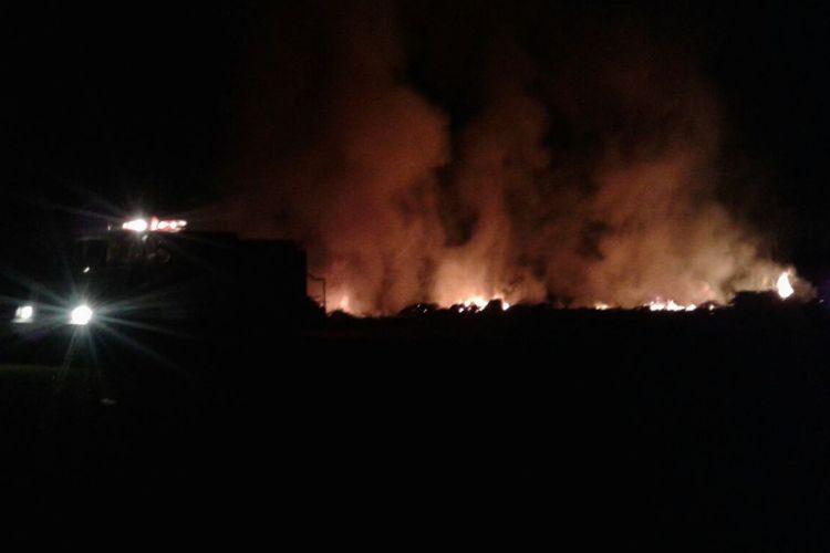 Incendio en el Arroyo Balta