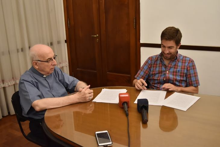 Municipio y Arzobispado firman importante convenio para acción social