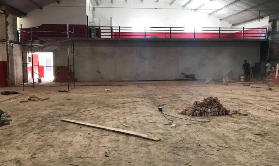 Quilmes avanza con la remodalción del «Rolo» Cardinal