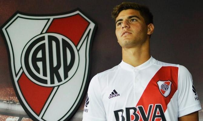 El mercedino Santiago Sosa, en la lista de la Copa Libertadores de River