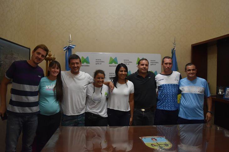 Municipio junto a la selección argentina de atletismo con parálisis cerebral brindan capacitación