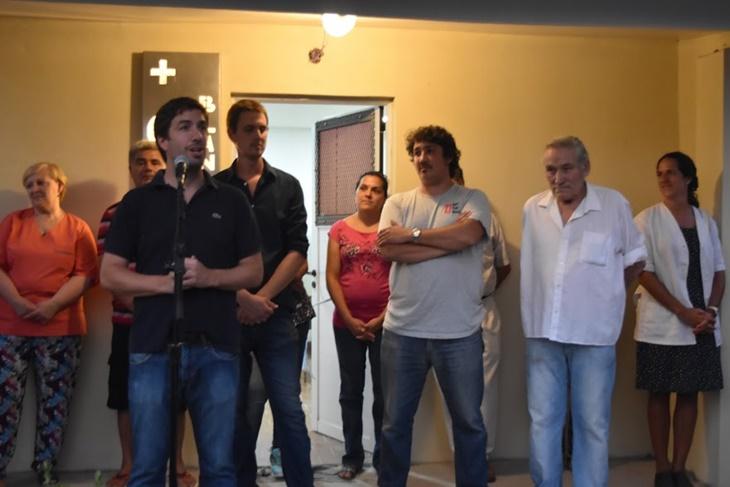 Ustarroz inauguró las obras de ampliación y puesta en valor del Centro de Salud Blandengues