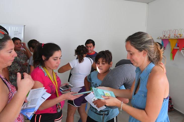 Nueva entrega de kits y curso pre parto del Programa Primeros Mil Días