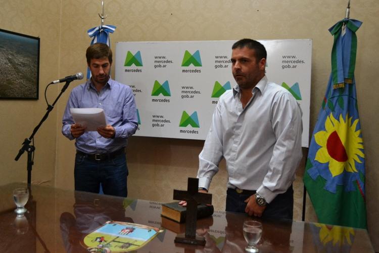 Matías Dematei juró como Jefe de Gabinete Municipal