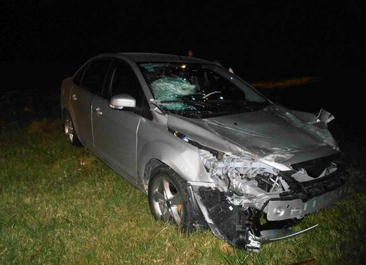 Ruta N°5: otro accidente violento, sin víctimas, se produjo altura Suipacha