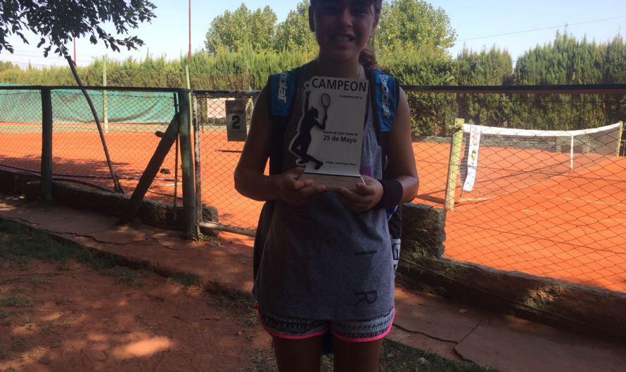 Brianna Becerro, campeona en 25 de Mayo