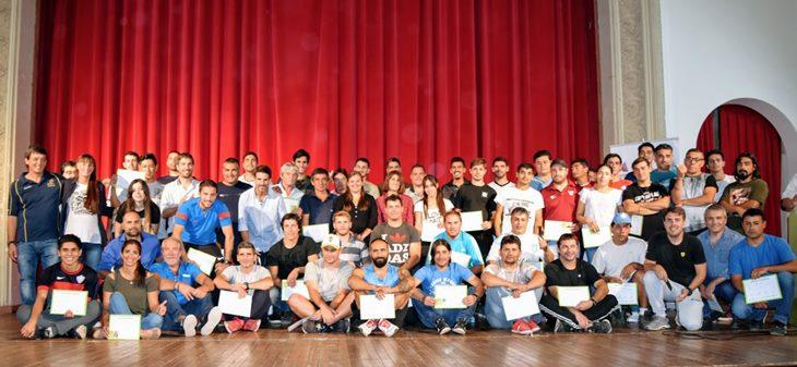 Más de 100 mercedinos certificaron finalización de curso brindado por Dirección de Deportes