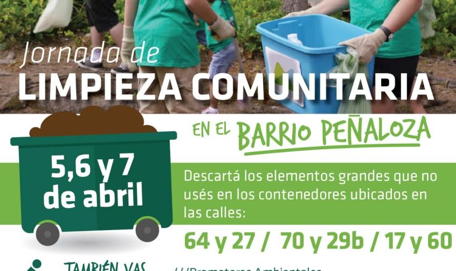 Avanza el programa de «Limpieza Comunitaria» en distintos barrios