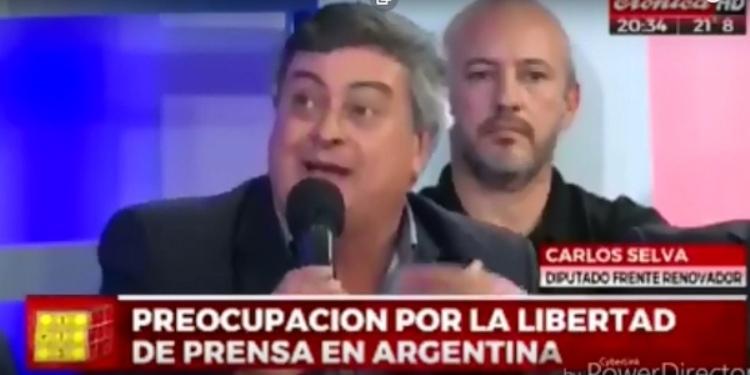 El Diputado Carlos Selva en TV habló de la situación económica del país