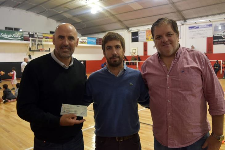 Municipio entrega importnate subsidio a Club Quilmes