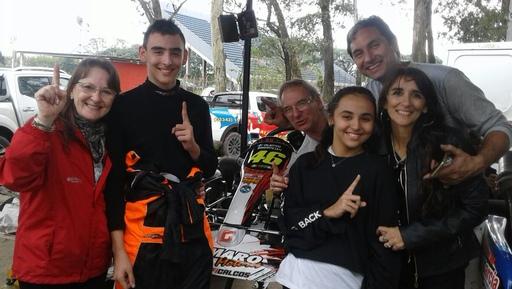 Buen debut en la Mecánica Nacional para Valentino Simionato