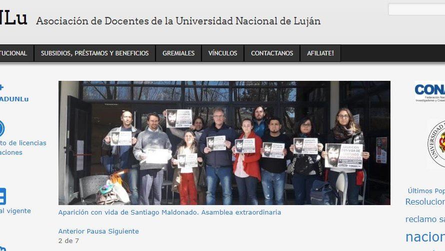 Docentes de la UNLu rechazan expresiones de gobernadora Vidal
