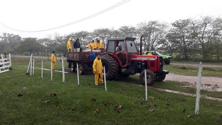 Municipio mantiene el alerta y guardia por damnificados del temporal
