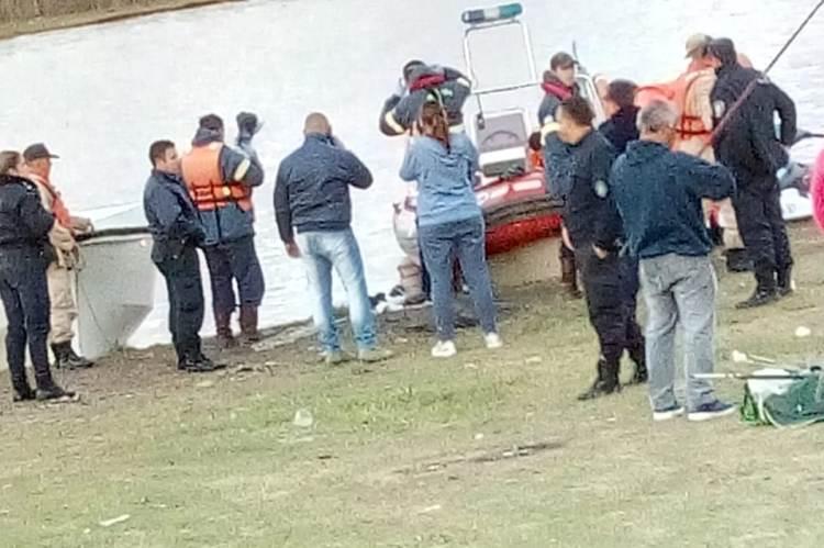 Prefectura halló al cuerpo de Annicelli en el río Baradero