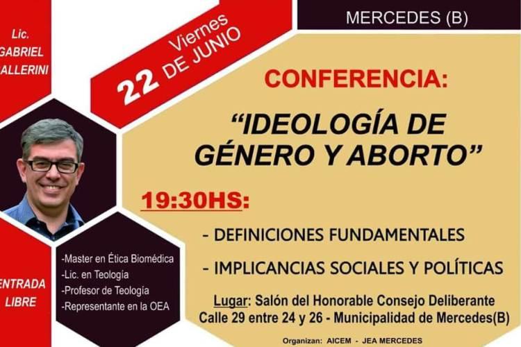 Iglesias Cristianas Evangélicas organizan charla sobre «Ideología de género y aborto»