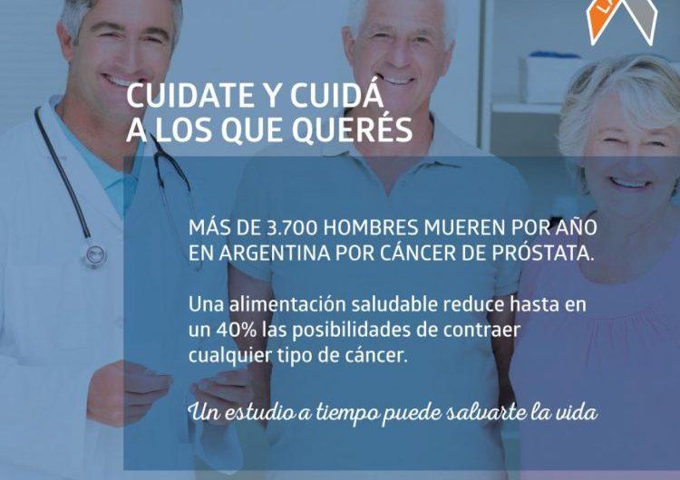 LALCEC en campaña de prevención cáncer de próstata