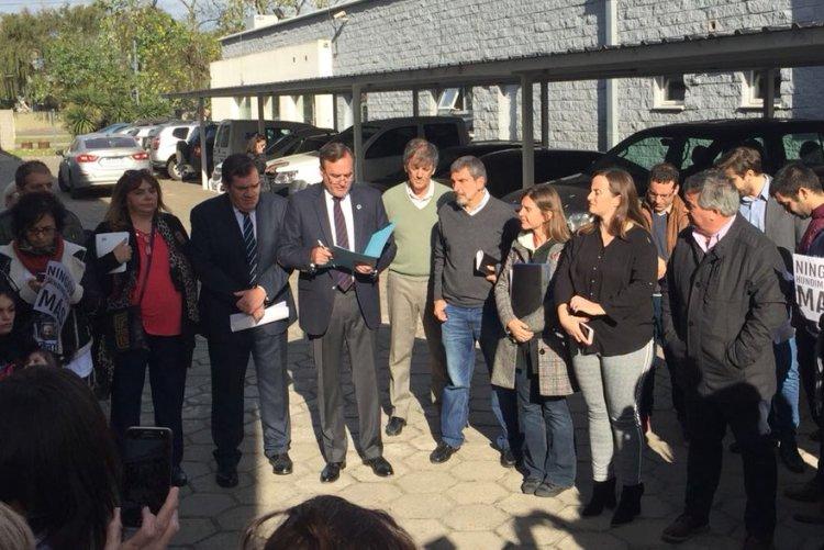 Selva formó parte de la reunión de comisión de Intereses Marítimos en Mar del Plata