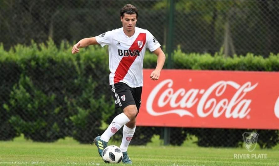 Santiago Sosa viajó a la pretemporada de Orlando con River Plate