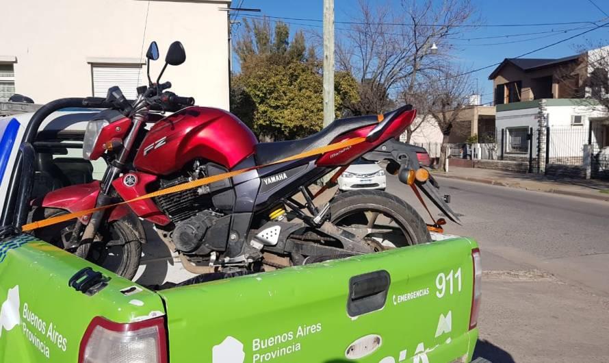 Policía Comunal recupera moto con pedido de captura