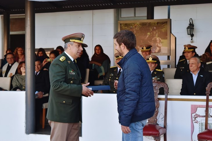 Se conmemoró el 80 aniversario de Gendarmería Nacional