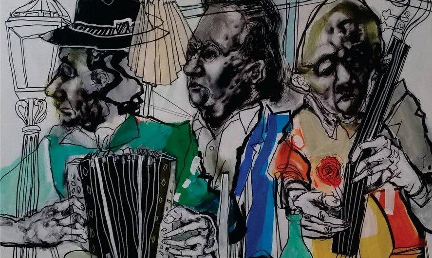 Marcela Cueto Mención Especial en el Salón de Pintura de Luján