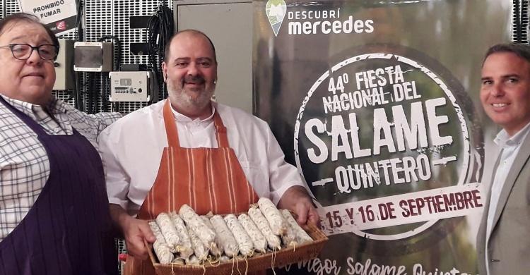 Promocionan Fiesta del Salame en «Cocineros Argentinos»