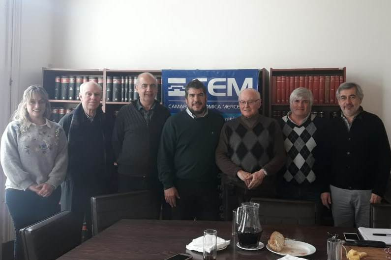 La CEM recibió a la Federación Económica de Buenos Aires