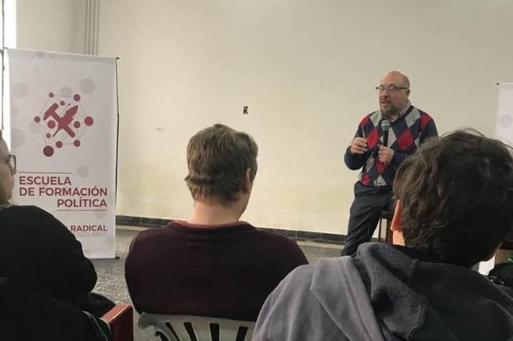 La Juventud Radical Mercedes participó de capacitación en Lomas de Zamora