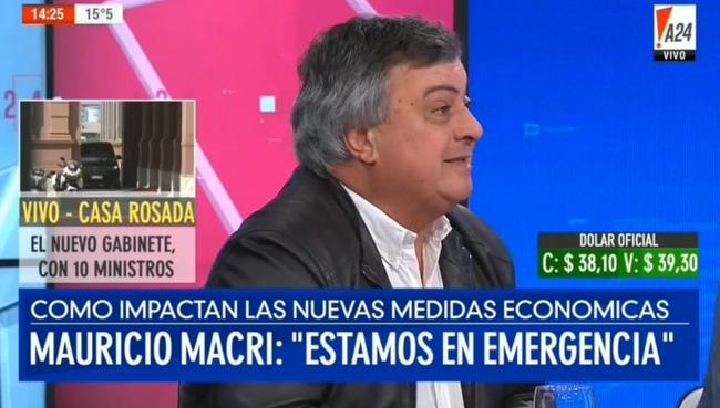 """Carlos Selva: """"El Presidente no se hizo cargo de un solo error"""""""