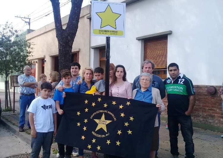 Una Estrella Amarilla recuerda a Sonia Romero