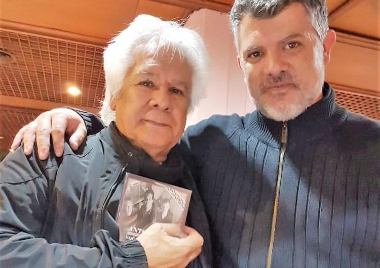 Vocal Mercedes entregó su producción discográfica a Víctor Heredia