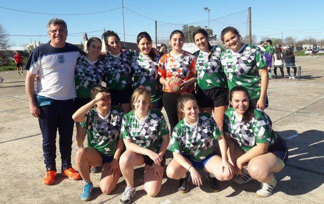 El handball femenino viajó a Bragado