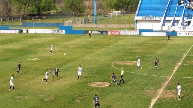 Gol de Mauro Bustos en la goleada de Sportivo Barracas ante Argentino de Merlo (video)