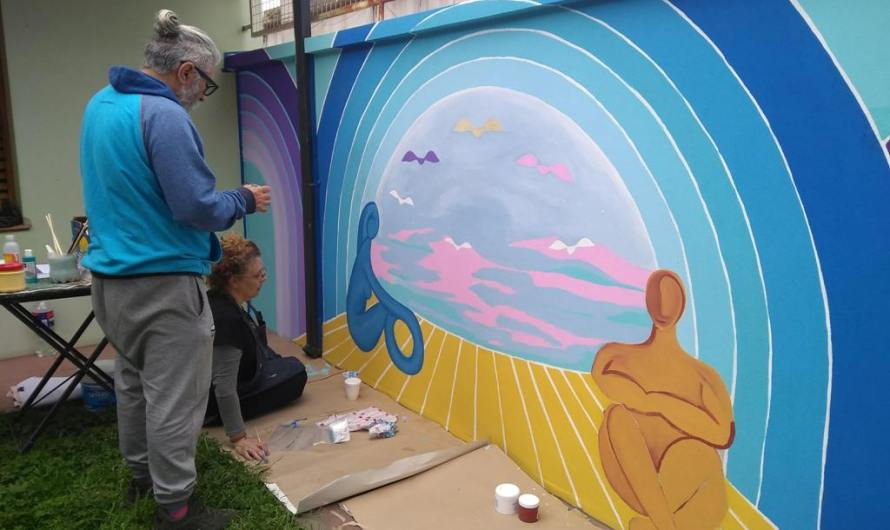 Patrimonio restaura los murales de Landi de calle 39
